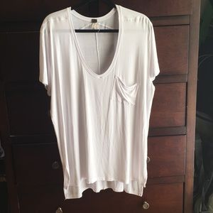 NWOT We The Free by Free People Tunic Tee